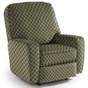Best Home Furnishings Medium Recliners Bilana Wallhugger Recliner - Item Number: 742060136-27063
