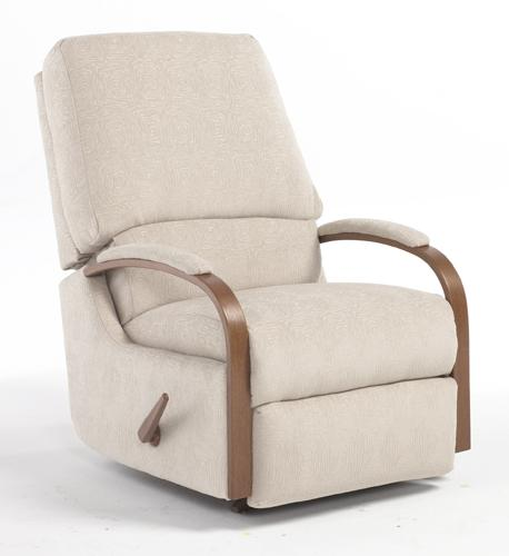 Best Home Furnishings Recliners - Medium Pike Swivel Rocker Recliner - Item Number: 7NW09DP