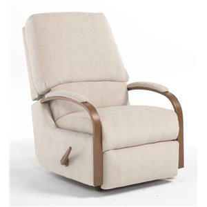 Vendor 411 Recliners - Medium Pike Swivel Rocker Recliner