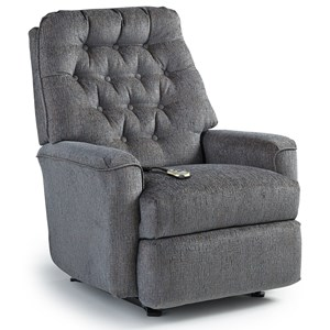Best Home Furnishings Medium Recliners Mexi Power Lift Recliner