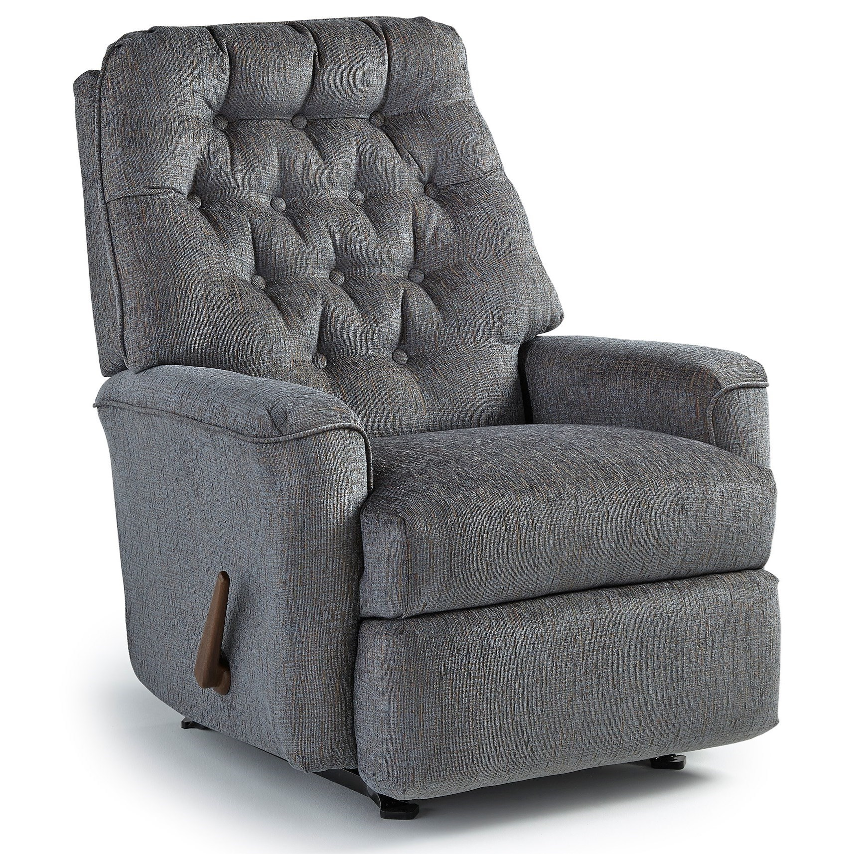 Best Home Furnishings Recliners - Medium Mexi Swivel Rocker Recliner - Item Number: 7NW59