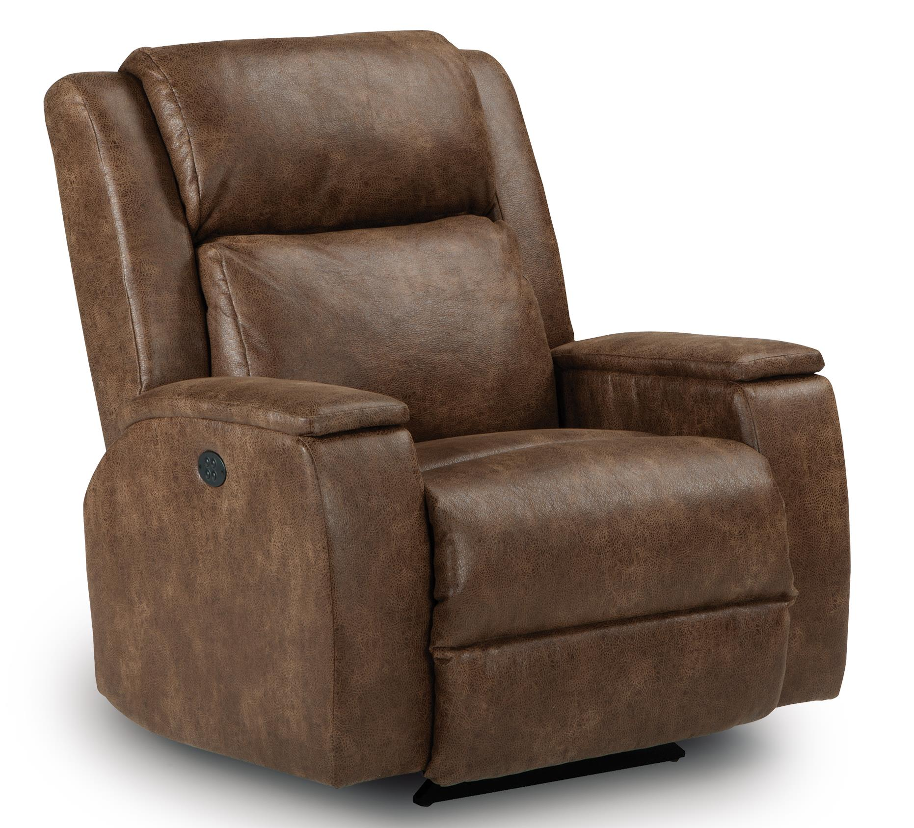 Best Home Furnishings Recliners - Medium Colton Power Space Saver Recliner - Item Number: 7NZ44-23286C