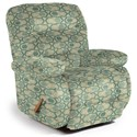 Best Home Furnishings Medium Recliners Maddox Space Saver Recliner - Item Number: 87456354-30562