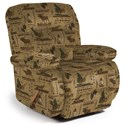 Best Home Furnishings Medium Recliners Maddox Space Saver Recliner - Item Number: 87456354-31767