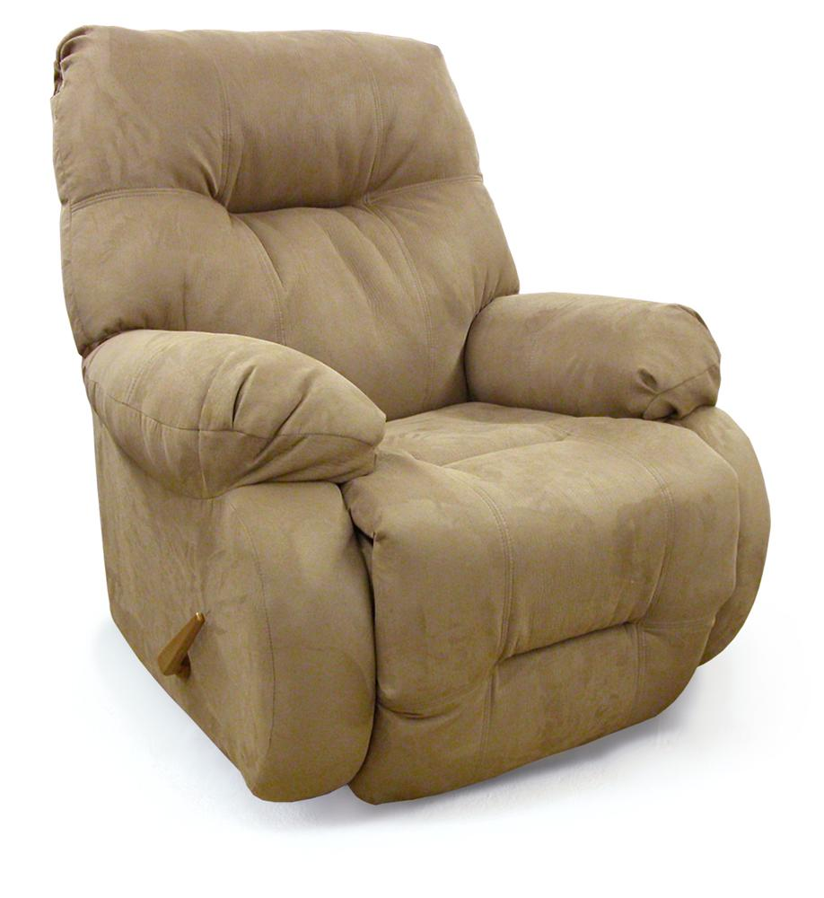 Brinley swivel glider reclining chair for 2 arm pressback chaise