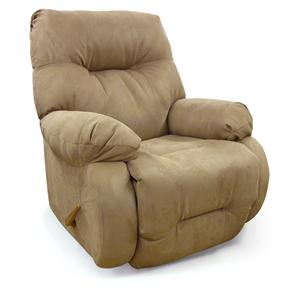 Best Home Furnishings Recliners - Medium Brinley Swivel Rocker Recliner