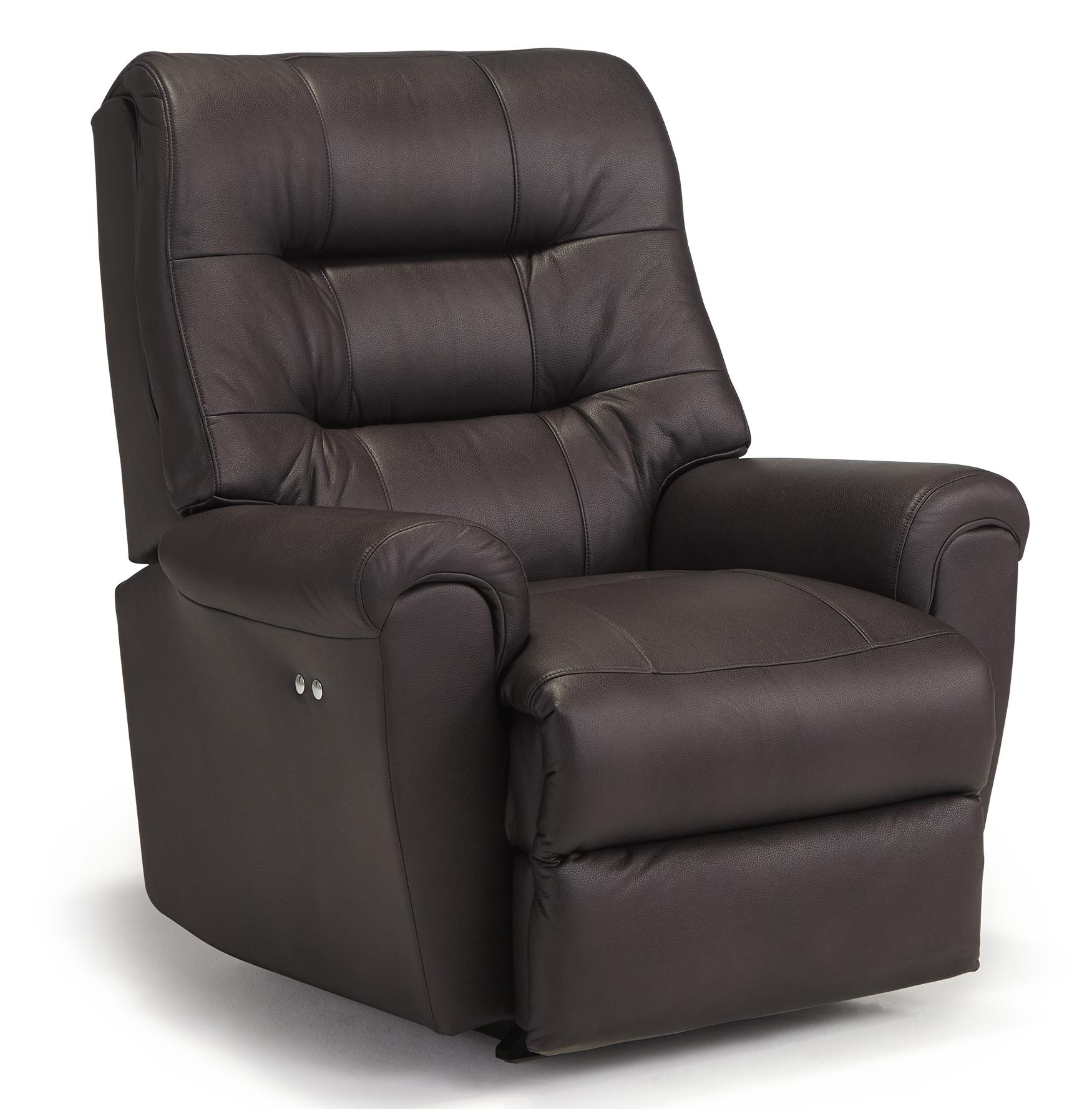 Best Home Furnishings Recliners - Medium Langston Space Saver Recliner - Item Number: 8N24U-27593BU