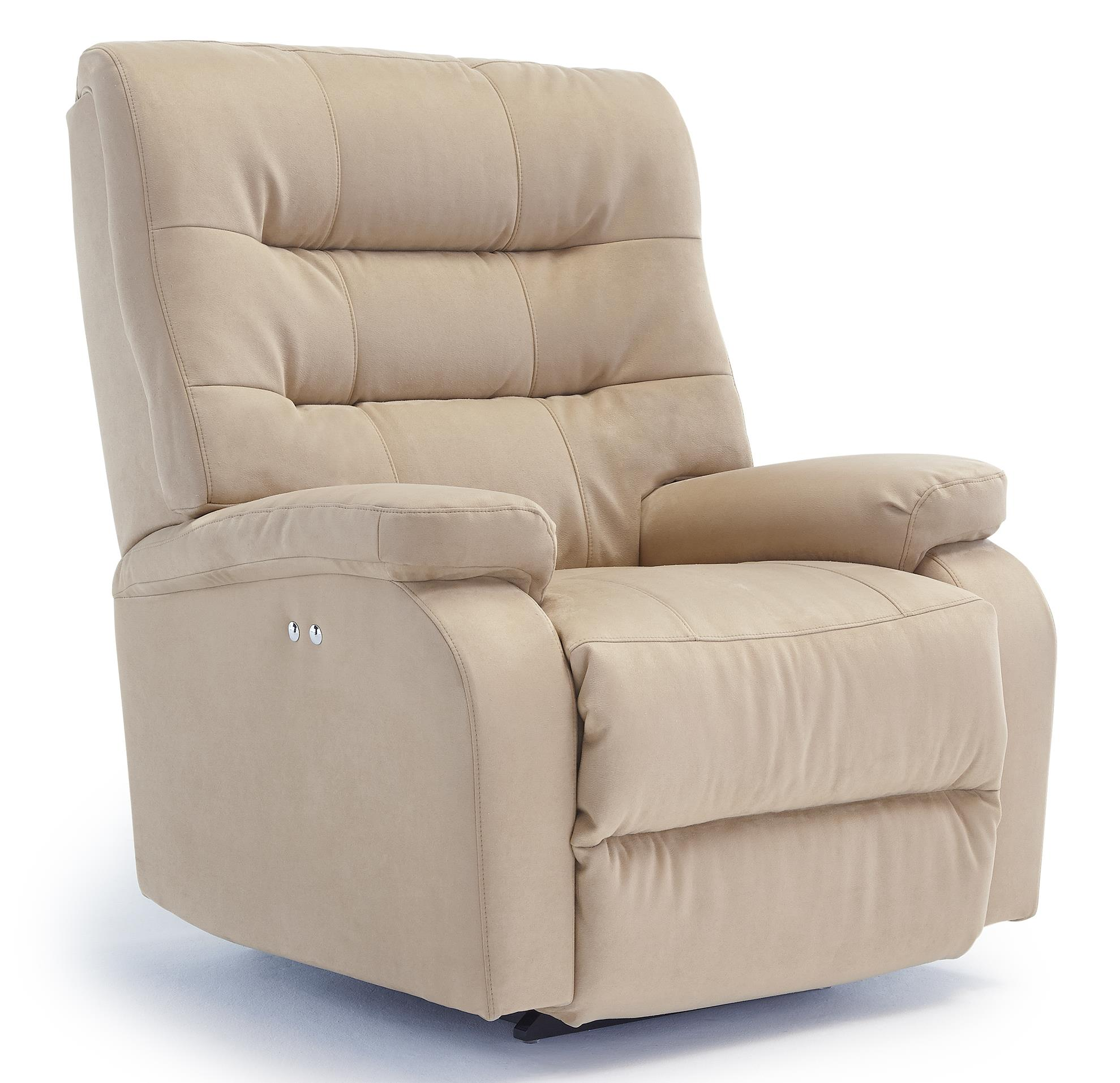 Best Home Furnishings Recliners - Medium Liam Rocker Recliner - Item Number: 8N37-26659