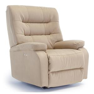 Vendor 411 Recliners - Medium Liam Swivel Rocker Recliner