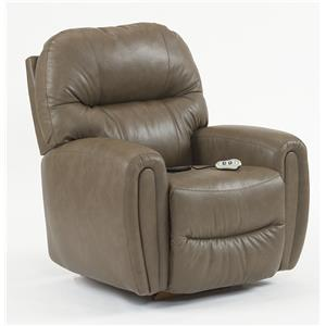 Best Home Furnishings Medium Recliners Markson Power Lift Recliner