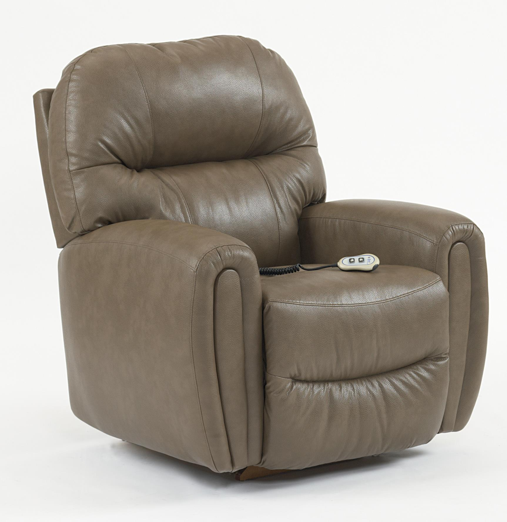 Best Home Furnishings Recliners - Medium Markson Power Space Saver Recliner - Item Number: 8NP64L