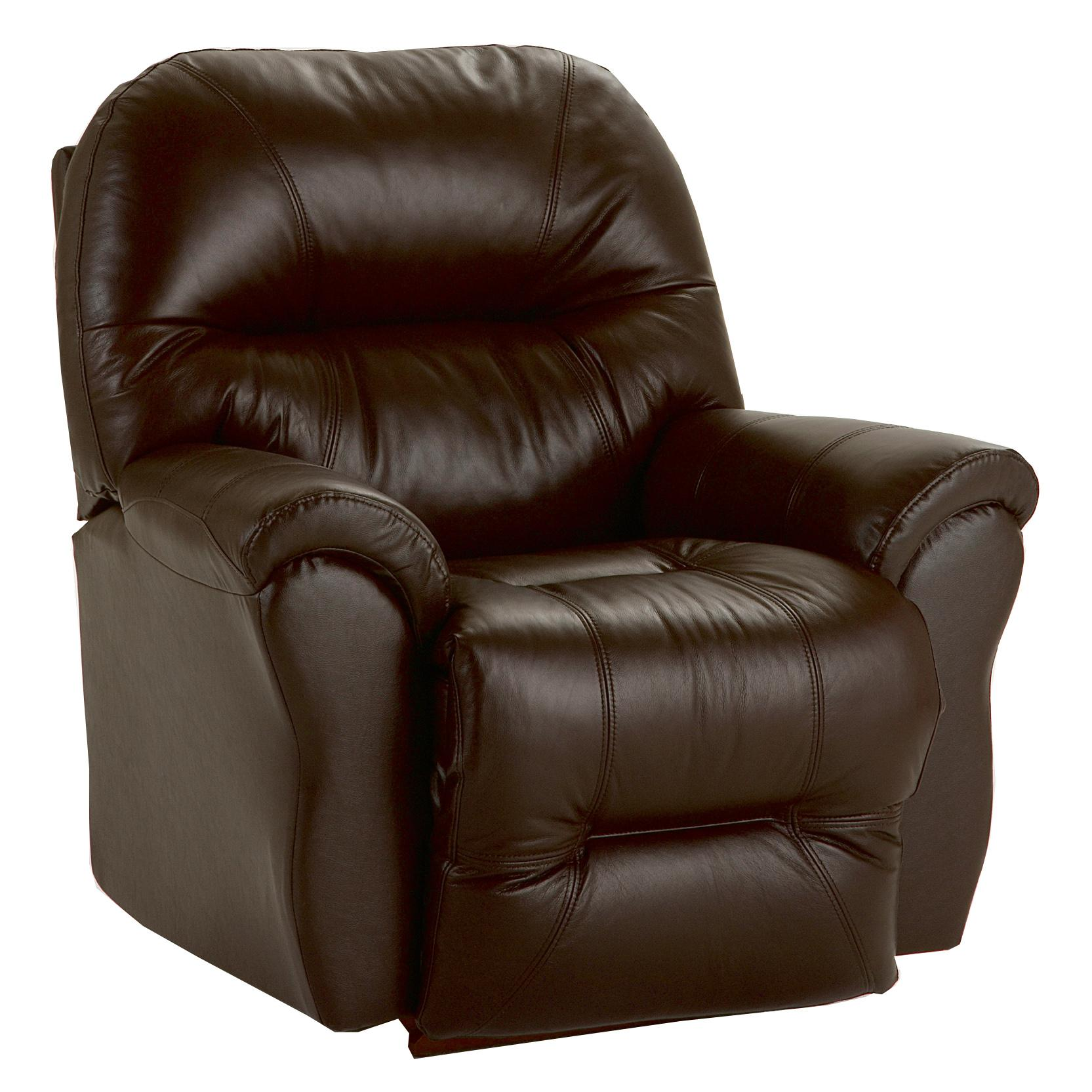 Best Home Furnishings Recliners - Medium Bodie Rocker Recliner - Item Number: 8NW17LV