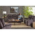 Best Home Furnishings Recliners - Medium Bodie Swivel Gliding Reclining Chair - 8NW15