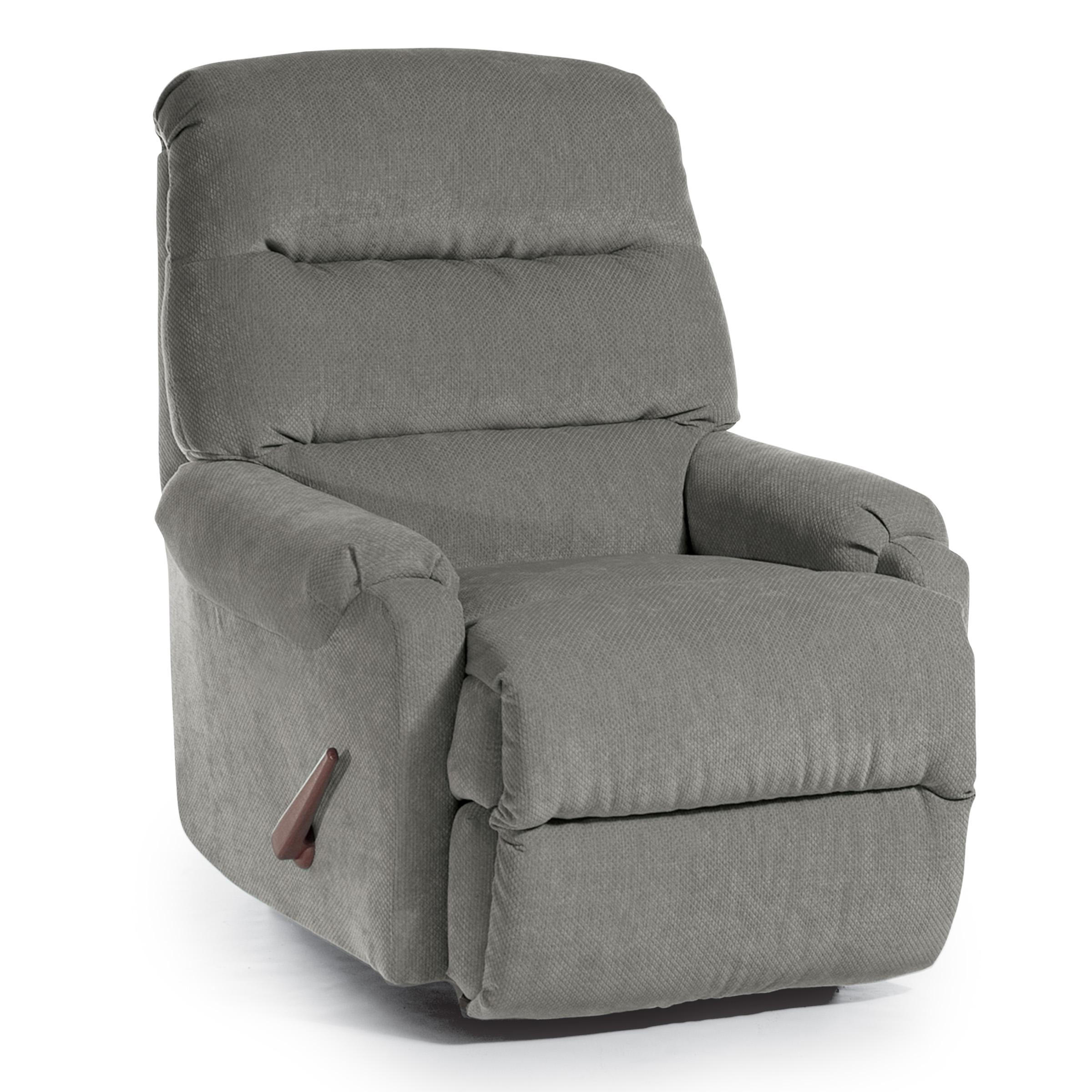 Best Home Furnishings Recliners - Medium Sedgefield Swivel Rocker Recliner - Item Number: 9AW69