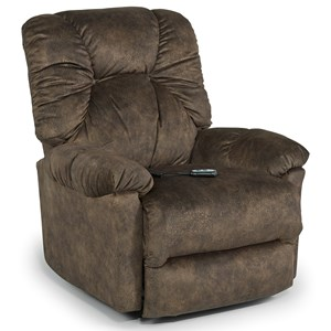Best Home Furnishings Medium Recliners Power Wallhugger Recliner