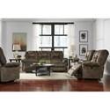 Best Home Furnishings Medium Recliners Power Rocking Reclining Chair
