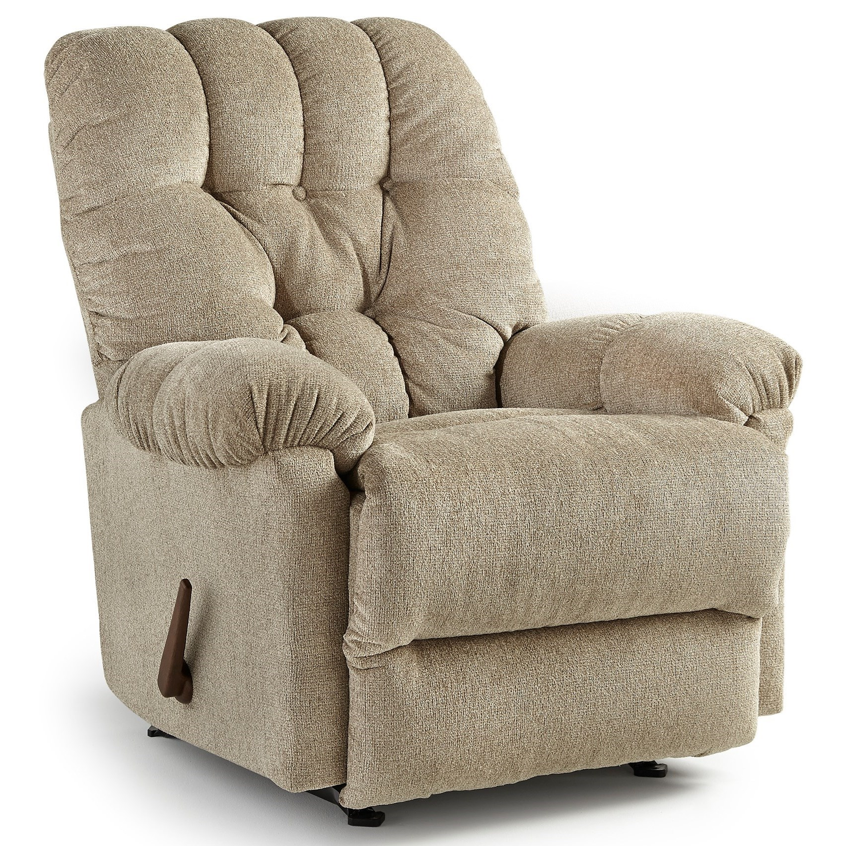 Best Home Furnishings Recliners - Medium Raider Swivel Rocker Recliner - Item Number: 9MW39