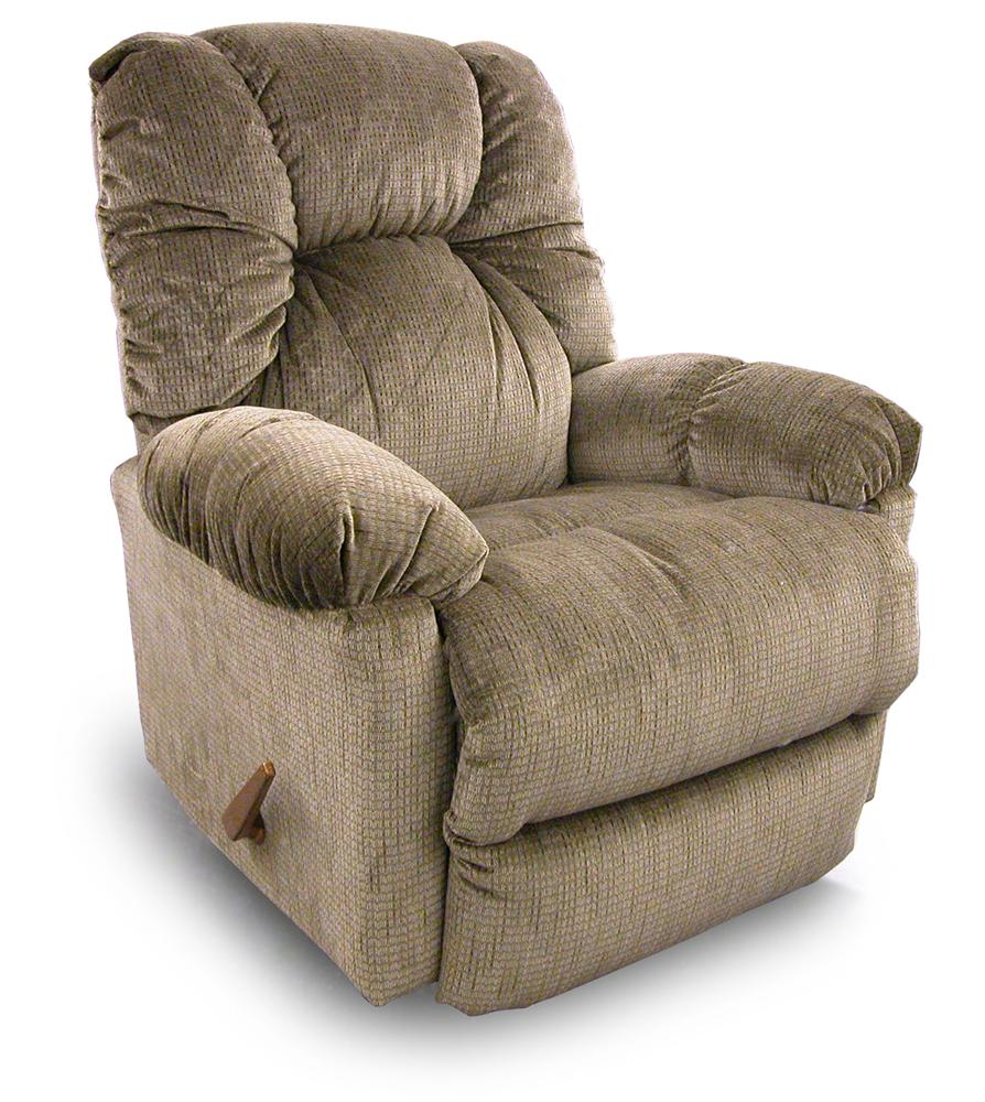 Recliners Medium Romulus Swivel Rocking Reclining Chair By Best Home Furnishings Wolf Furniture