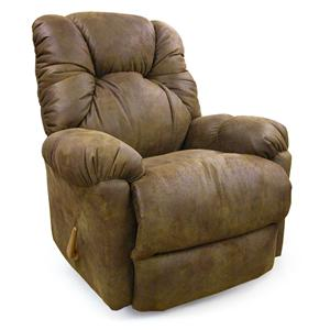 Best Home Furnishings Recliners - Medium Romulus Rocker Recliner