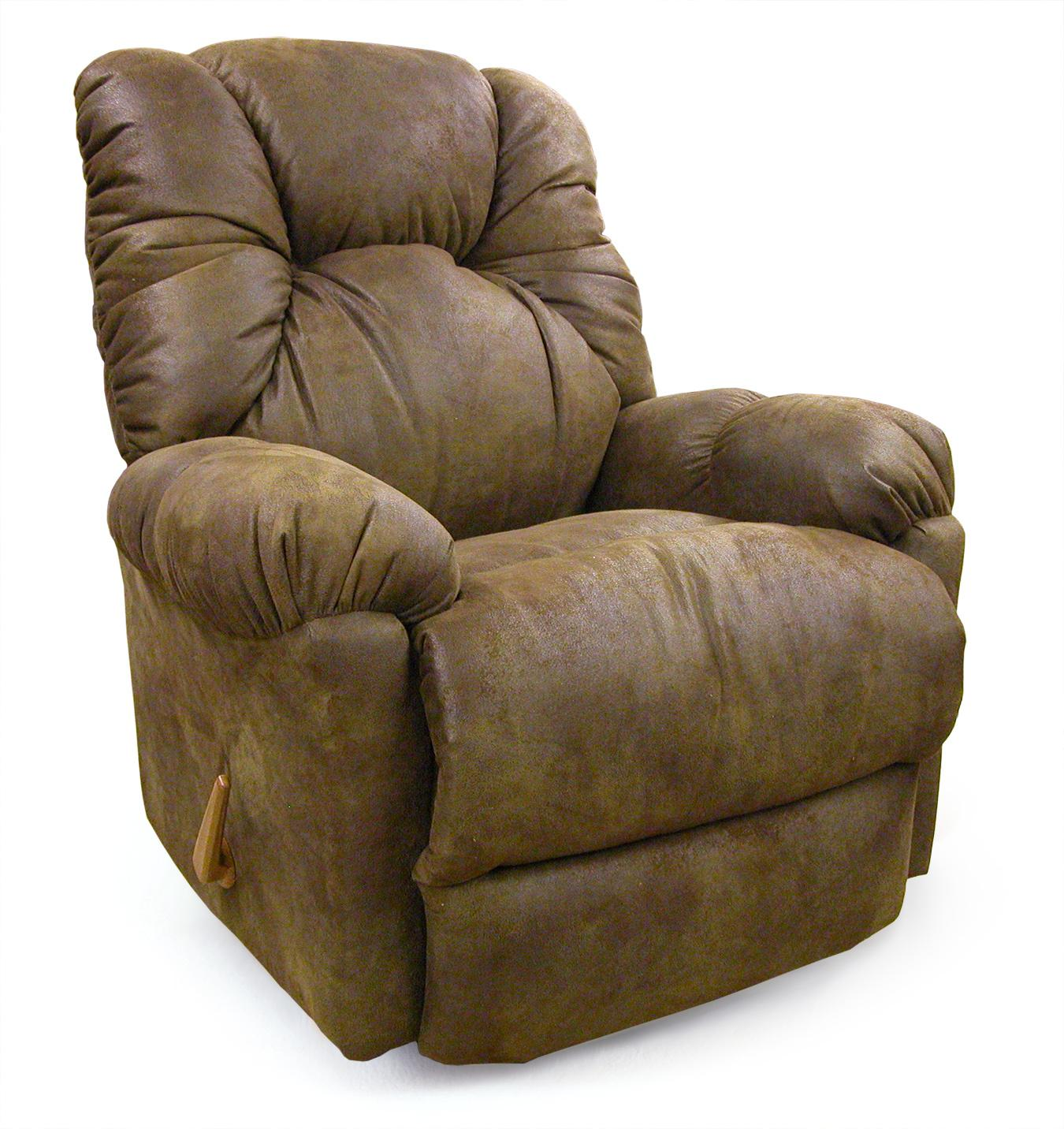 Best Home Furnishings Recliners - Medium Romulus Swivel Rocker Recliner - Item Number: 9MW59