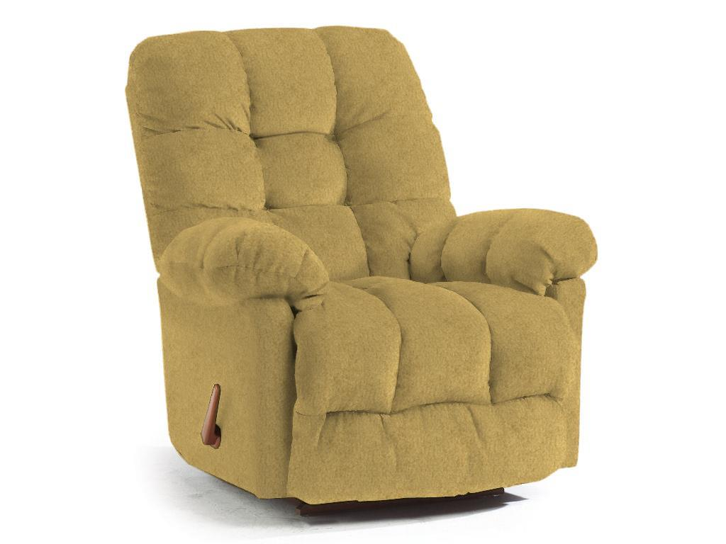 Best Home Furnishings Recliners - Medium Brosmer Swivel Glider Recliner - Item Number: 9MW85-1 21709 CAMEL