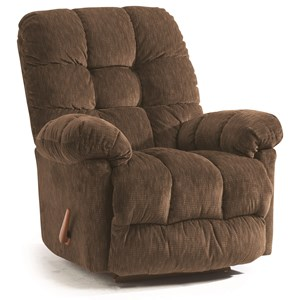 Best Home Furnishings Medium Recliners Brosmer Swivel Glider Recliner