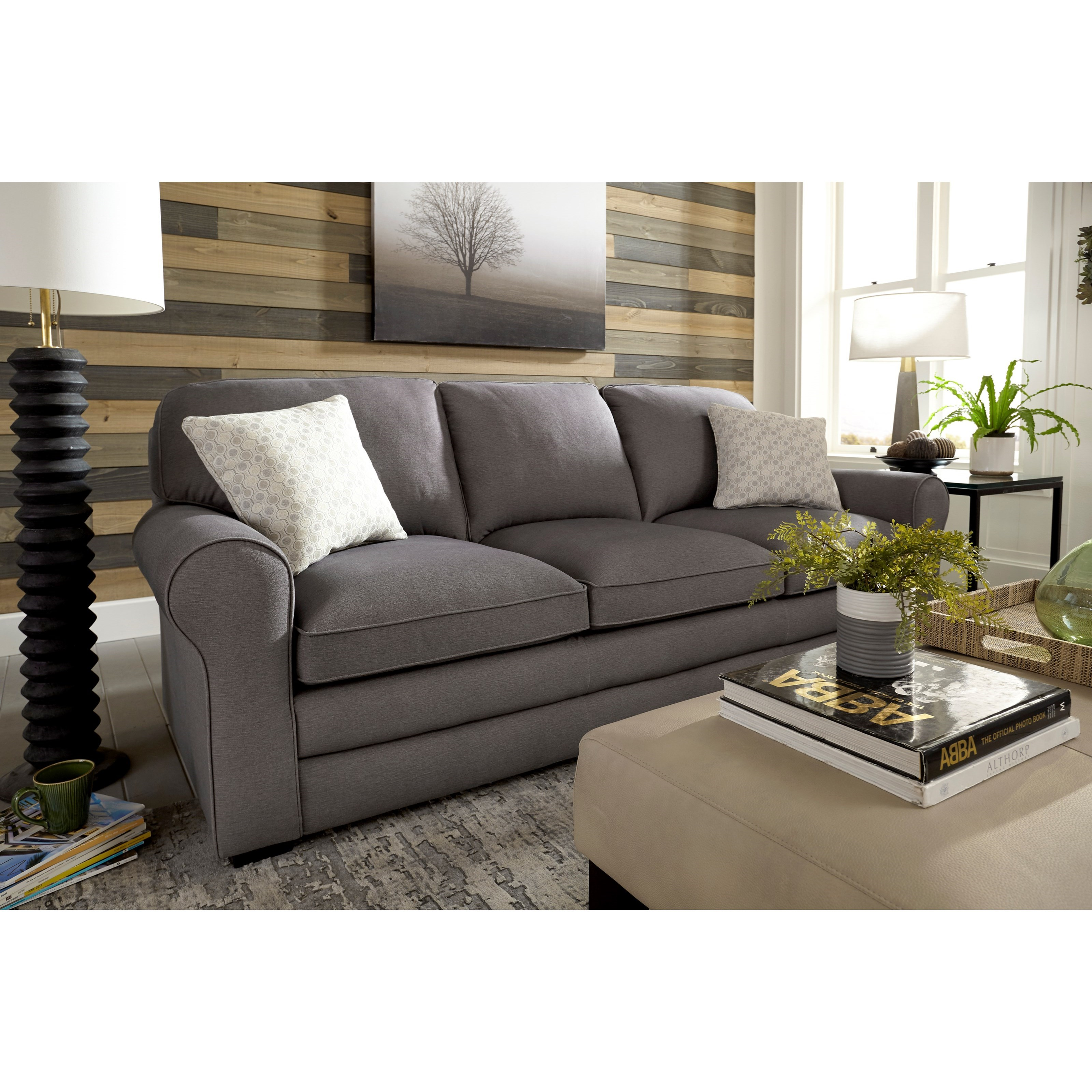 Home Furniture Distribution Center: Best Home Furnishings Nicodemus Casual Sofa With Large