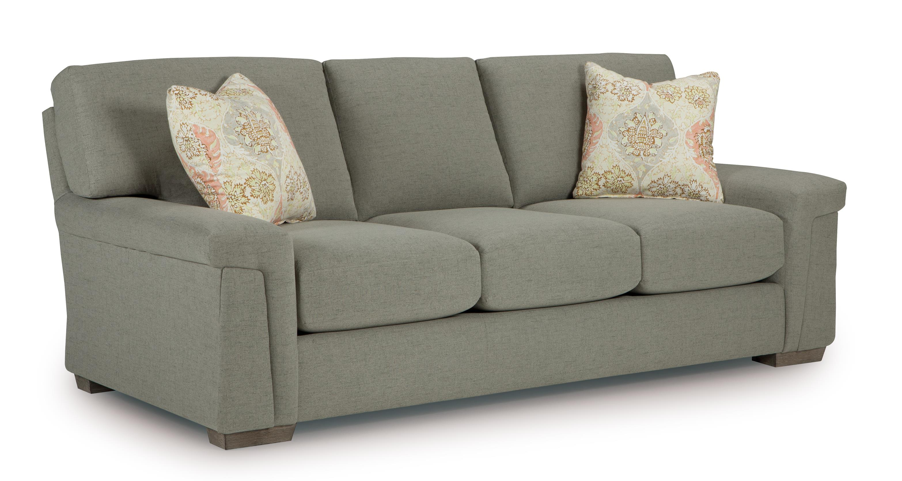Best Home Furnishings Oliver Stationary Sofa - Item Number: S40-20653