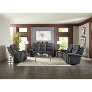 Best Home Furnishings Optima Reclining Living Room Group