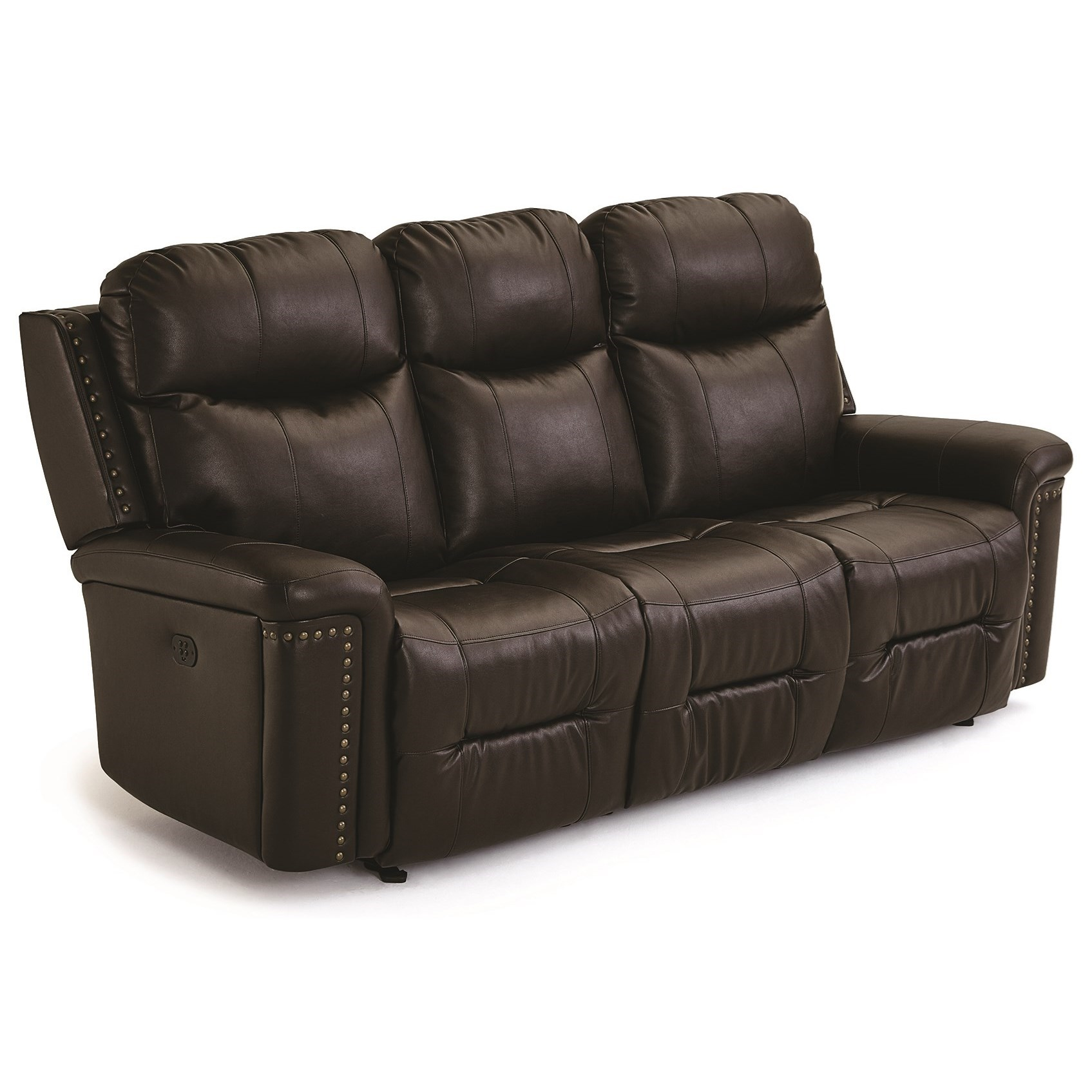 Best Home Furnishings Optima Space Saver Reclining Sofa