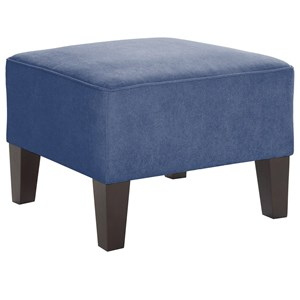 Morris Home Furnishings Ottomans Square Ottoman