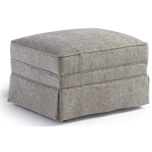 Best Home Furnishings Ottomans Rectangular Ottoman with Skirt