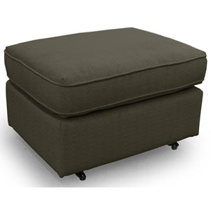 Best Home Furnishings Ottomans Rounded Casual Ottoman