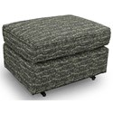 Best Home Furnishings Ottomans Rounded Casual Ottoman - Item Number: 0026-31433