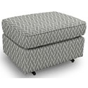 Best Home Furnishings Ottomans Rounded Casual Ottoman - Item Number: 0026-35259