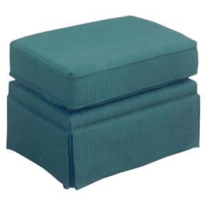 Best Home Furnishings Ottomans Ottoman with Welt Cord Trim