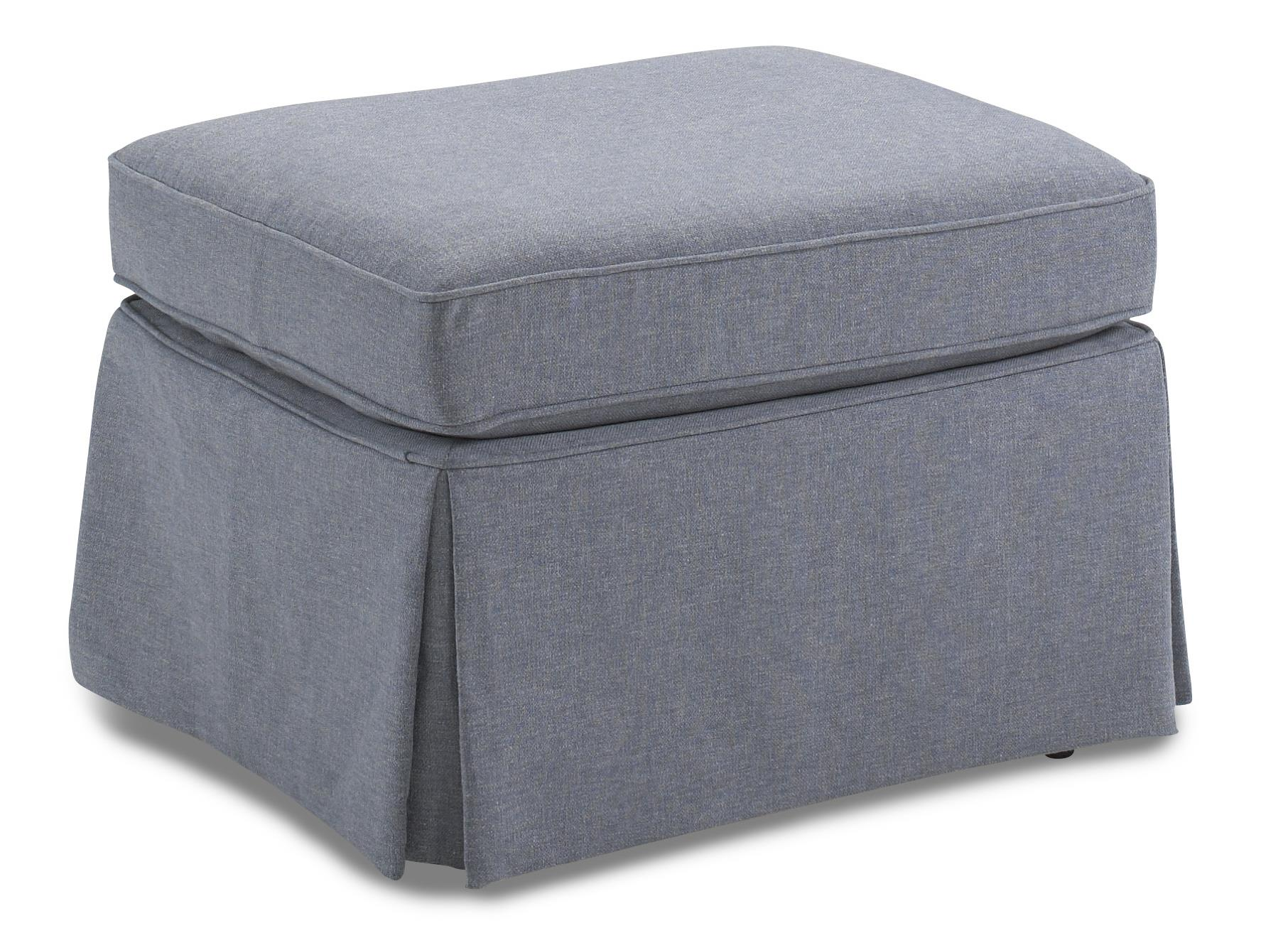 Best Home Furnishings Ottomans Skirted Glider Ottoman - Item Number: 0066