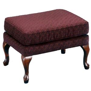 Morris Home Furnishings Ottomans Rectangular Soft Ottoman