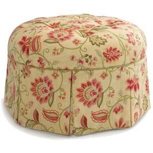 Best Home Furnishings Ottomans Circular Ottoman
