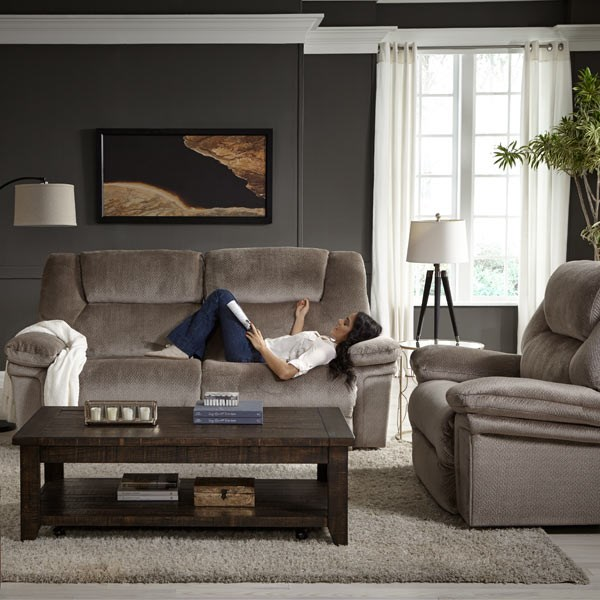Best Home Furnishings Parker S610ra4 Casual Space Saver Reclining Sofa With Wide Seats Great