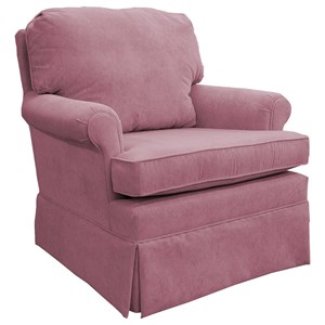 Best Home Furnishings Patoka Glider Club Chair