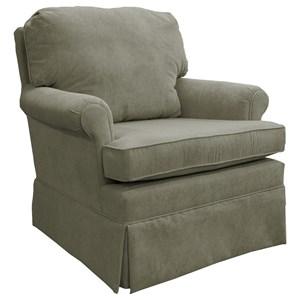 Best Home Furnishings Patoka Glider Club Chair