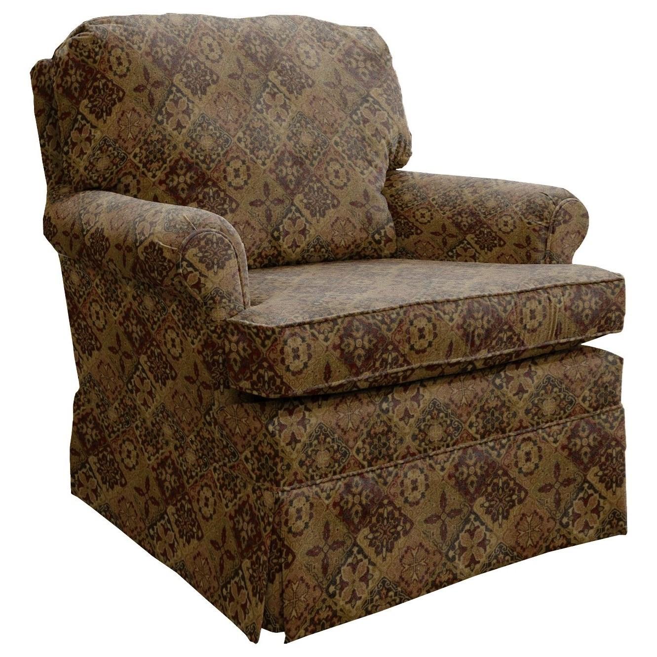 Best Home Furnishings Patoka Glider Club Chair - Item Number: 2616-28765