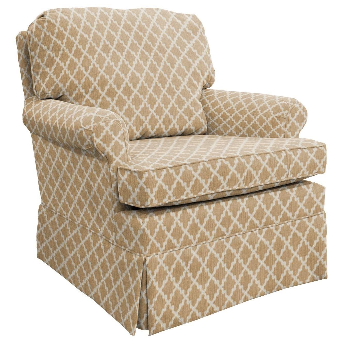 Best Home Furnishings Patoka Glider Club Chair - Item Number: 2616-28849