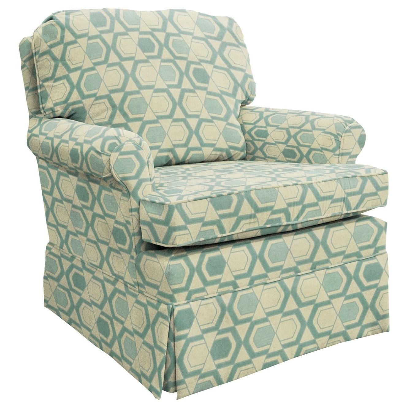 Best Home Furnishings Patoka Glider Club Chair - Item Number: 2616-30562