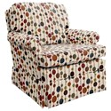 Best Home Furnishings Patoka Glider Club Chair - Item Number: 2616-34037
