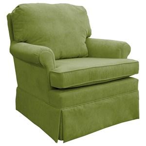 Swivel Glider Club Chair