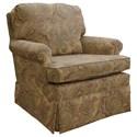 Best Home Furnishings Patoka Swivel Glider Club Chair  - Item Number: 2617-22405