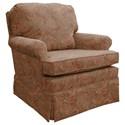Best Home Furnishings Patoka Swivel Glider Club Chair  - Item Number: 2617-23568