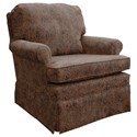 Best Home Furnishings Patoka Swivel Glider Club Chair  - Item Number: 2617-25038